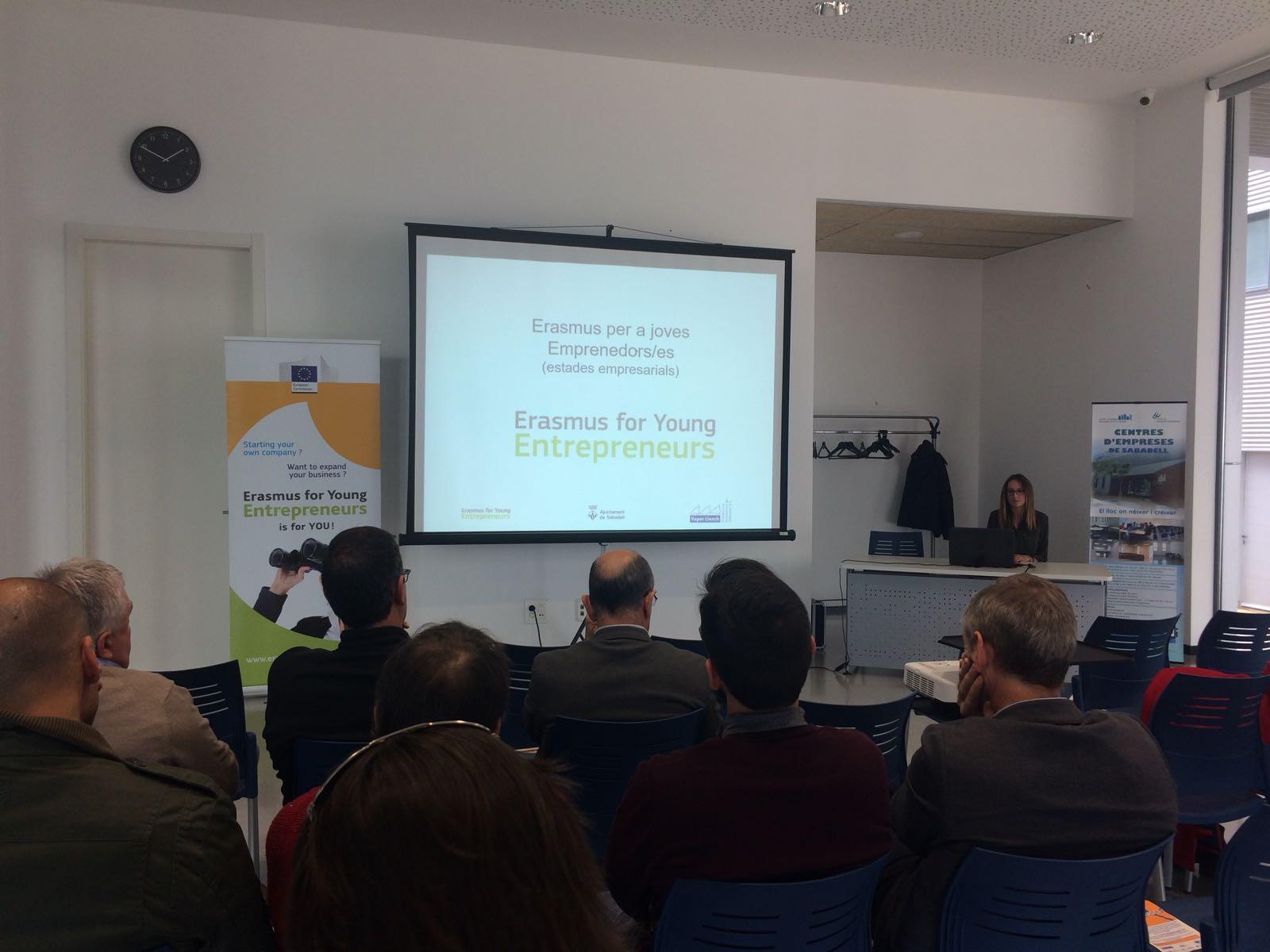 El programa Erasmus per Joves Emprenedors/es