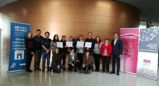 premis del concurs Idees Innovadores per a Reptes Socials