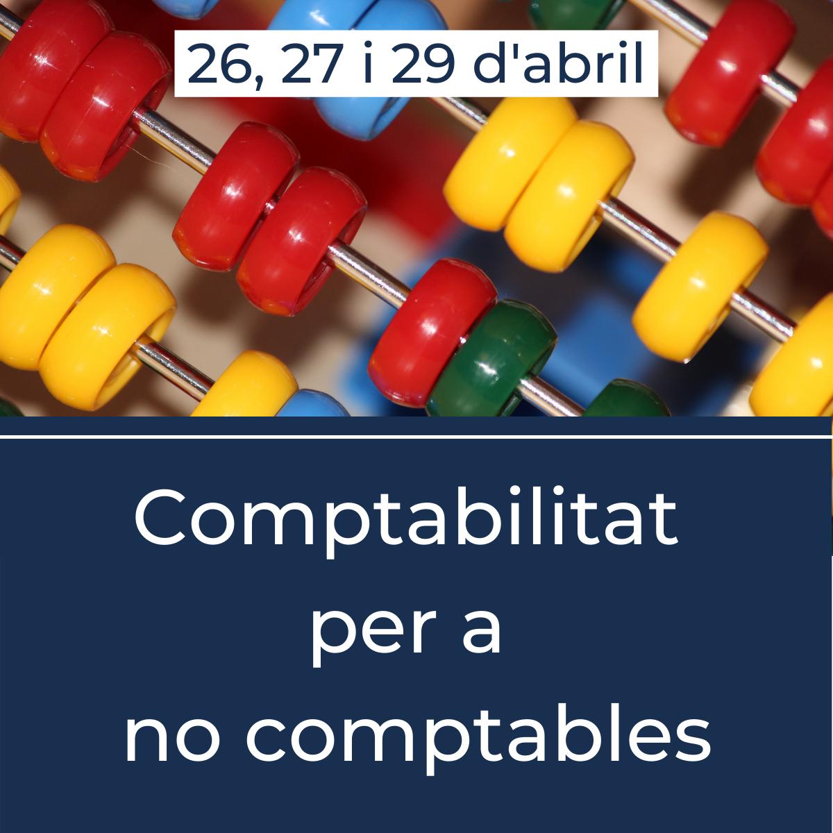 Comptabilitat per no comptable