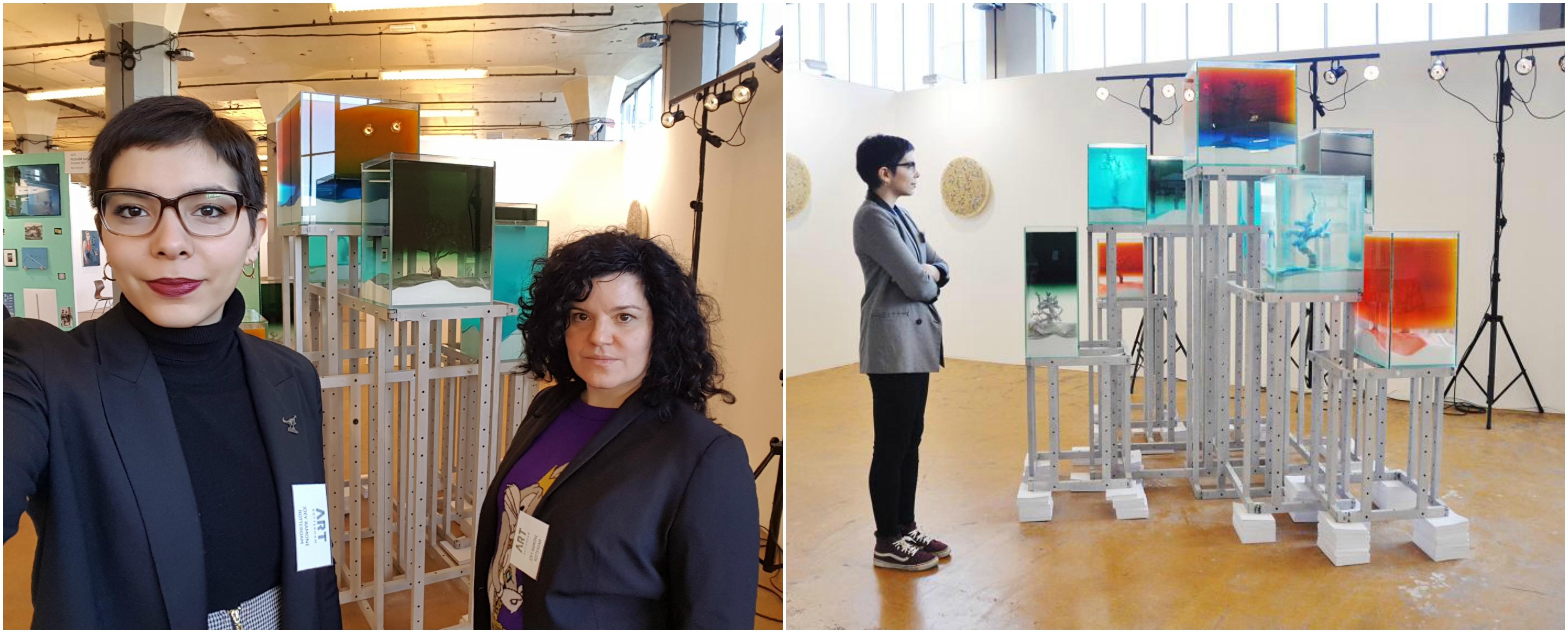 Maria Lucia va iniciar la seva estada de 6 mesos a Rotterdam a la galeria Joey Ramone