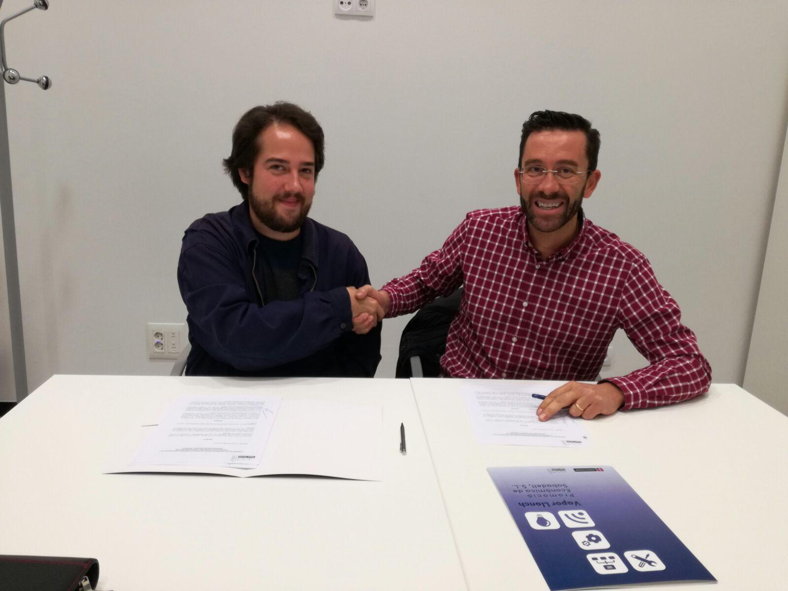 Ajuntament de Sabadell i l'Associació d'Empreses i Propietaris del Polígon d'Activitat Econòmica de Can Roqueta de Sabadell (AEPCRO)
